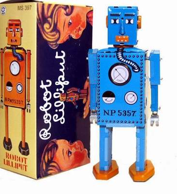 Lilliput Robot Blue