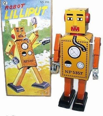 Lilliput Robot Yellow