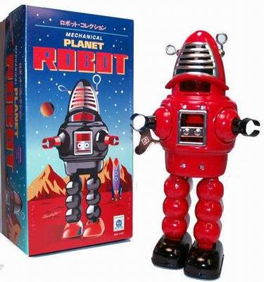 Robby the Robot Red Planet Robot Schylling