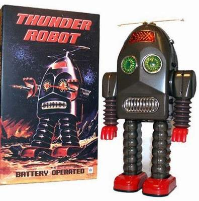 Thunder Robot Space